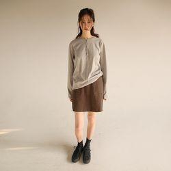 vas cotton mini skirt (3colors)