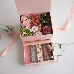 PAVE FLOWER BENTO BOX - ONLY BOX