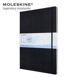 몰스킨 아트 컬렉션 워터컬러 노트 하드커버 A3 블랙