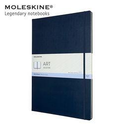 몰스킨 아트 컬렉션 스케치북 하드커버 A3 사파이어블루
