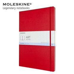몰스킨 아트 컬렉션 스케치북 하드커버 A3 레드