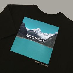 new black replay campaign 12 tee (minty)