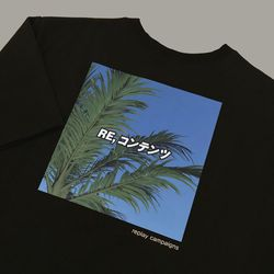 new black replay campaign 12 tee (green)