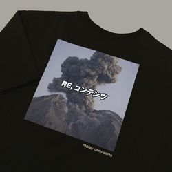 new black replay campaign 12 tee (chacoal)