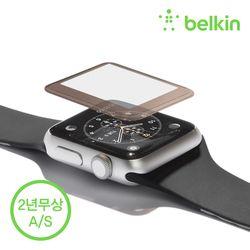 벨킨 애플워치 시리즈3 2 강화유리필름 42mm F8W918qe