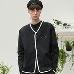 RC sweat cardigan (black)