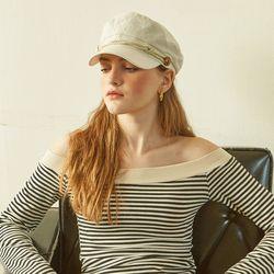 Julie Hat 2 Colors (Ivory Black)