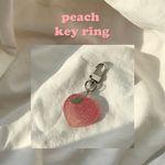 peach key ring (키링)