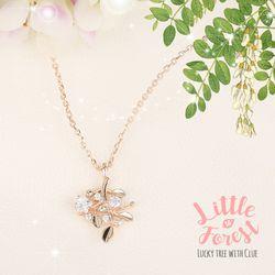 봄날의숲속 별빛가득 아카시아 행운나무 목걸이 CLNR19402MPM