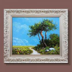 소나무절경 복들어오는 그림 액자 풍수에좋은그림 3호