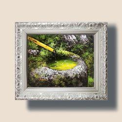 부귀의우물 돈들어오는 그림 액자 풍수에좋은그림 3호