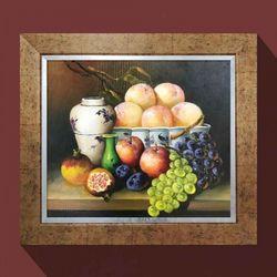 번창의과일 돈들어오는 그림액자 풍수에좋은그림 10호