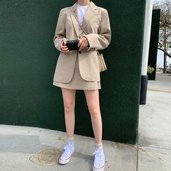 FRESH A grab cotton skirts (s m)
