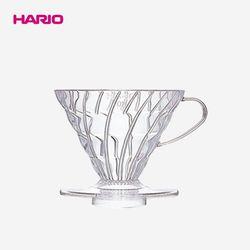 하리오 V60 커피드리퍼 02 4인 투명 VD-02T