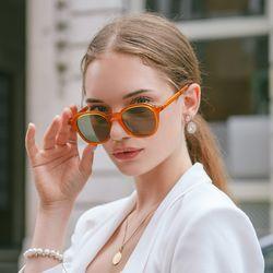 TALUS RT E6015 C1 패션선글라스 (카키 렌즈)