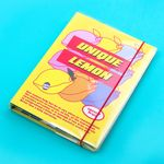 [마스킹테이프 증정] A5 하드 육공 모눈 노트 - 후르츠시리즈-02 Lemon 레몬