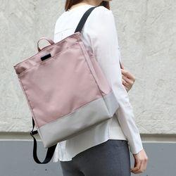 리베르 숄더백팩 - 핑크(기저귀가방 백인백 이너백)