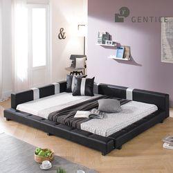 이너프 저상형 패밀리침대  침대프레임 (Q)