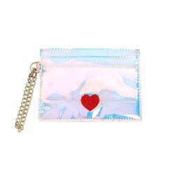 홀로그램 체인 하트 카드지갑 홀로그램(AG2C9212OAXX)