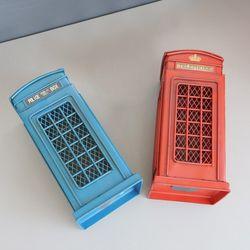 전화박스 저금통(2color)