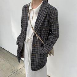 losangeles vintage check jacket