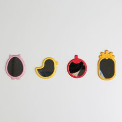 젤리팜 스마트폰 부착거울 접착거울 2개