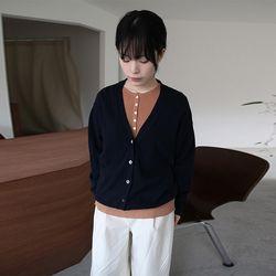 avant v-neck cardigan (3colors)