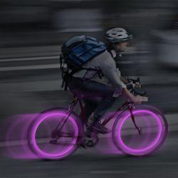 씨 엠 LED 2pk - Purple