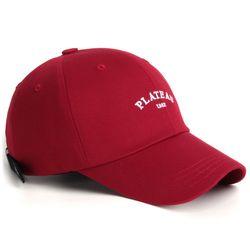 19 1982 W PLATEAU CAP RED
