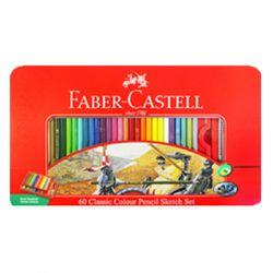 파버카스텔 일반색연필 60색 틴케이스 115893