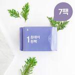 원데이원팩 유기농 생리대 중형 7팩(49P)