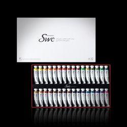 신한 SWC 고급 수채화물감 15ml 32색