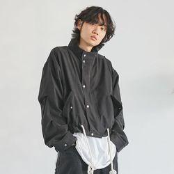 rope string zip-up jacket (3 color) - men