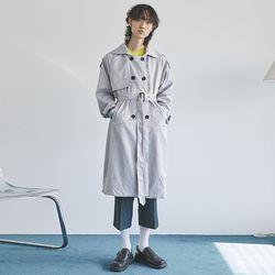 smooth raglan double trench coat (3 color) - men