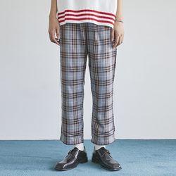standard check banding pants (2 color) - men