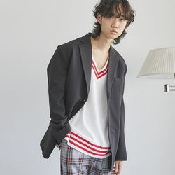 sensual single 2-button jacket (3 color) - men