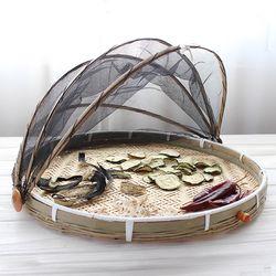 아카시아 대나무 덮개채반(소) 50cm