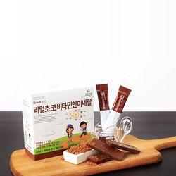 밀싹엔 리얼초코비타민앤미네랄 30포
