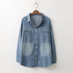 Pocket Denim Shirts