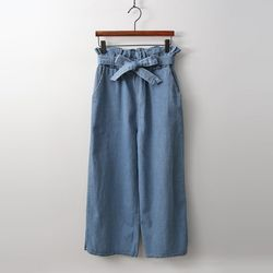 Frill Wide Jeans