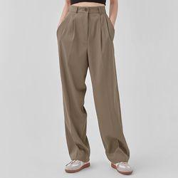 low pintuck long slacks (s m)