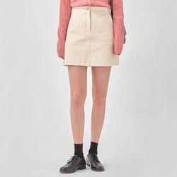 septemder cotton mini skirt (s m)