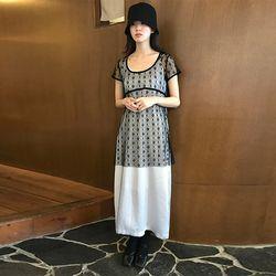 feminine slip dress (2colors)