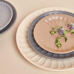 케라미카 바뎀 접시 소 6color
