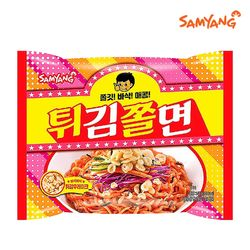 [삼양라면]쫄깃 바삭 매콤 튀김쫄면 140gx32입