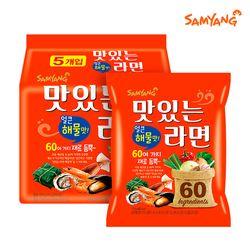 [삼양라면]맛있는라면 해물맛 115gx40봉(멀티팩)