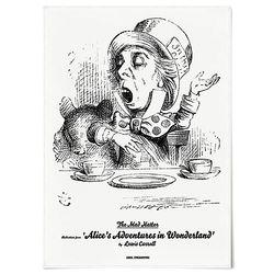 중형 패브릭 포스터 F258 그림 천 액자 이상한 나라의 앨리스 E
