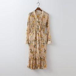 Narcissus Chiffon Long Dress