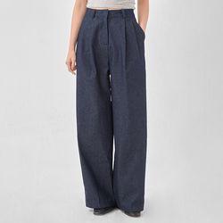 dressing wide denim pants (s m)
