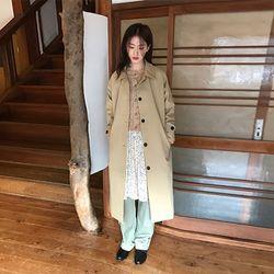 boxy single coat (2colors)